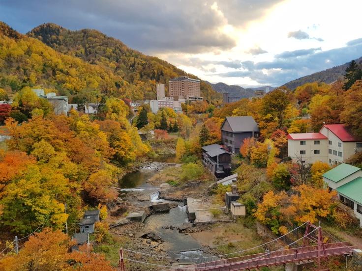 La beauté de l'automne à Jozankei
